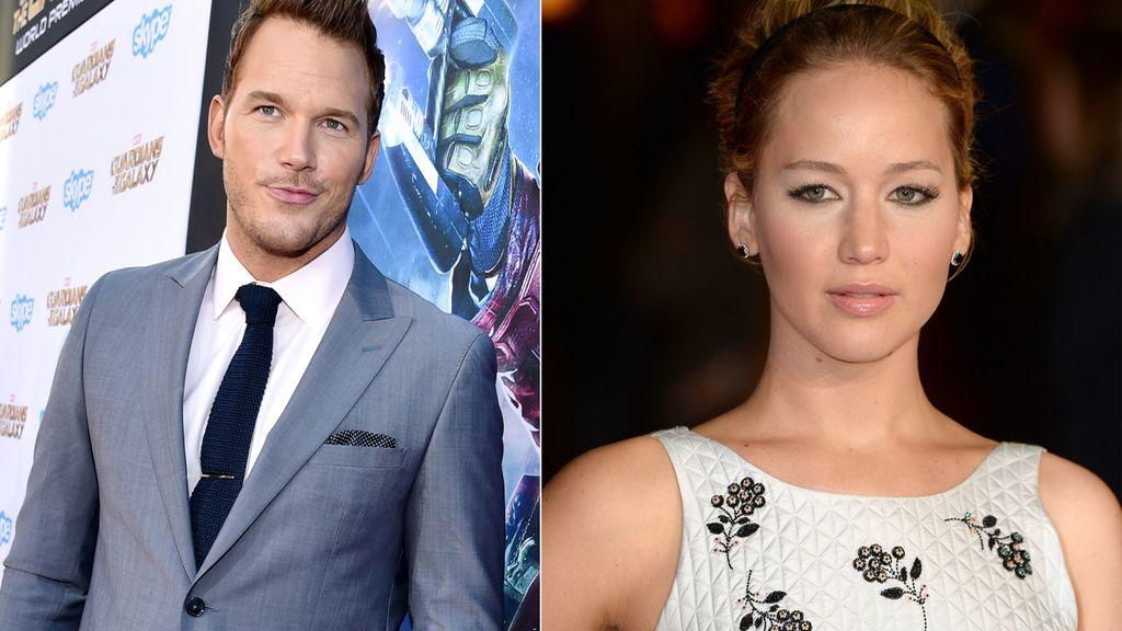 Jennifer Lawrence y Chris Pratt, los actores más rentables para Hollywood