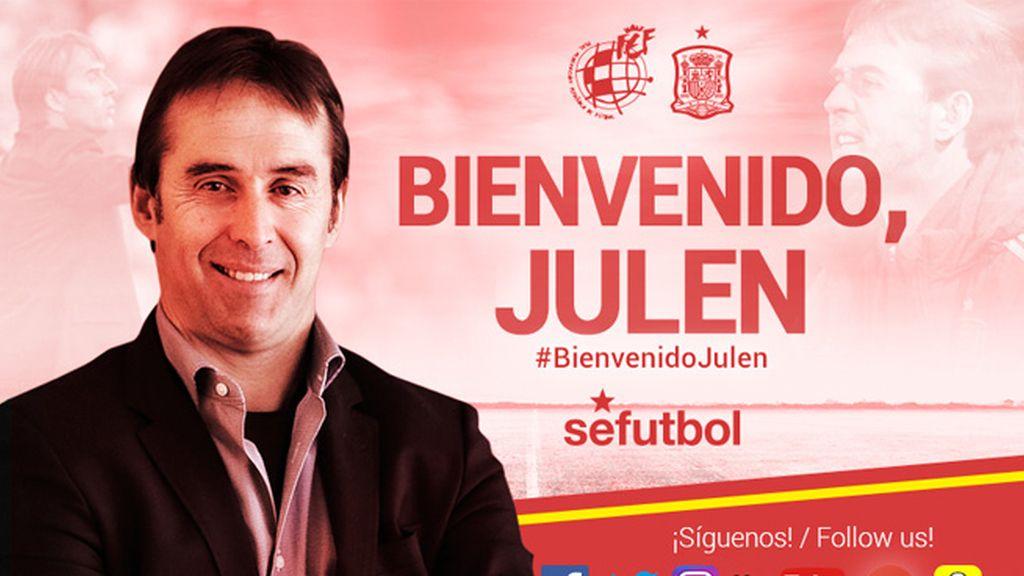 Julen Lopetegui, nuevo seleccionador nacional de fútbol