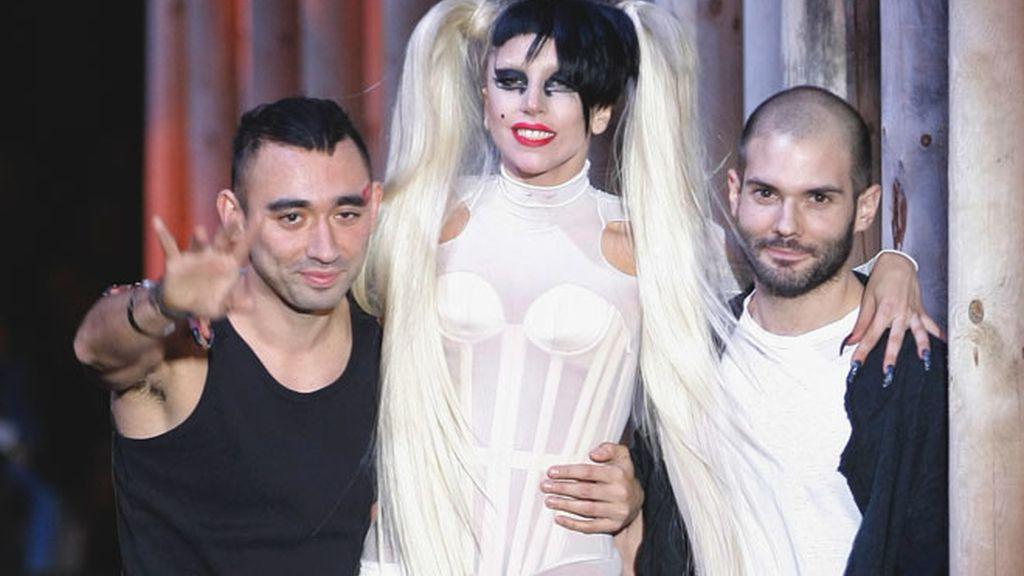 El debut de Lady Gaga como modelo