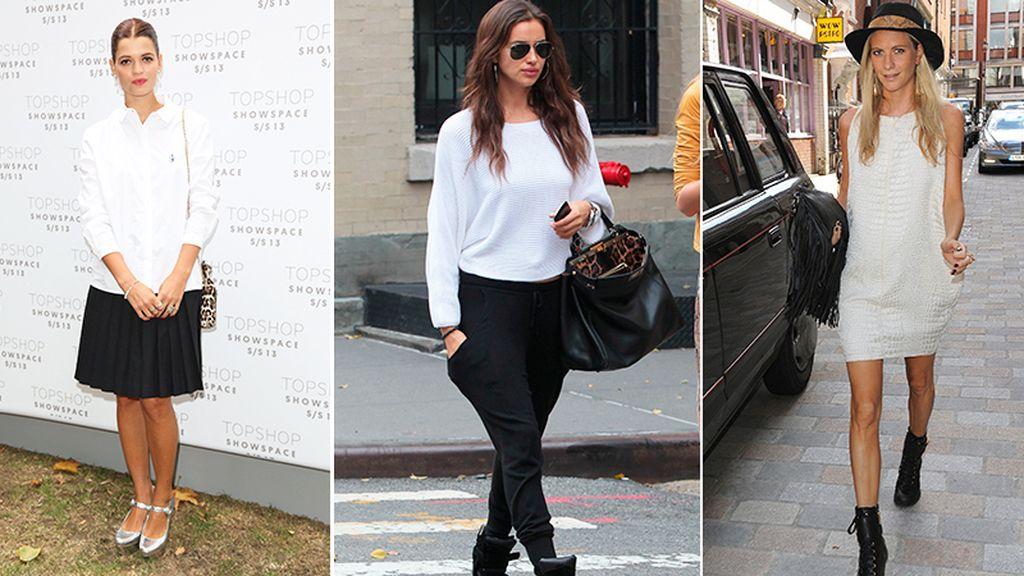 moda en blanco y negro