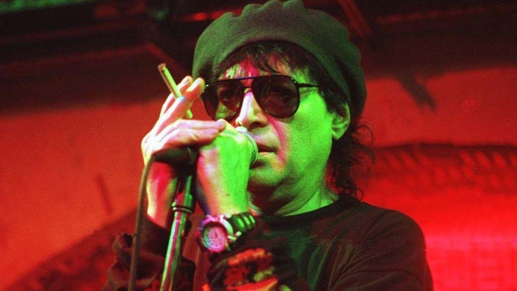Alan Vega, cantante del grupo de punk-rock Suicide