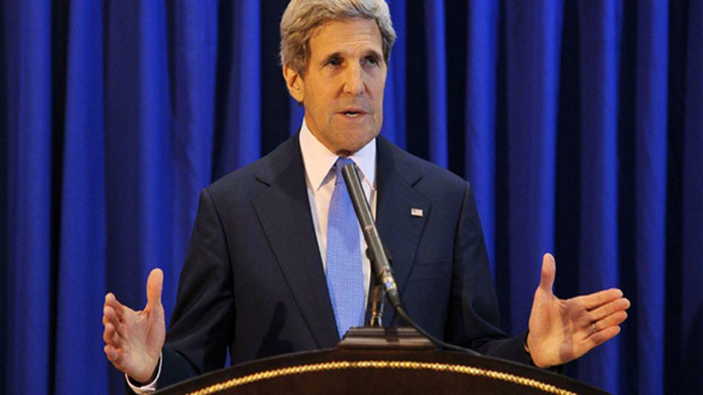 """John Kerry confía en que israelíes y palestinos trabajen por la paz de """"buena fe"""""""