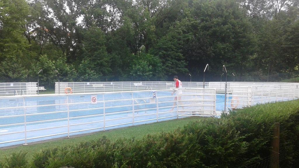 piscina, Pirineo, Huesca