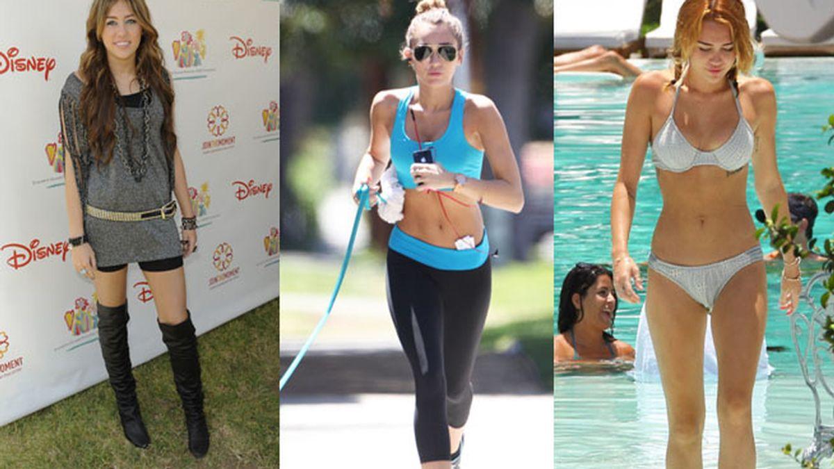 El cuerpo de Miley