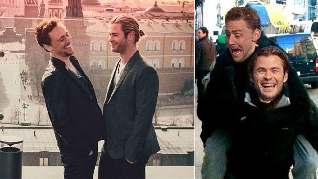 De los rodajes de 'Thor' con Chris Hermsworth ha surgido una gran amistad