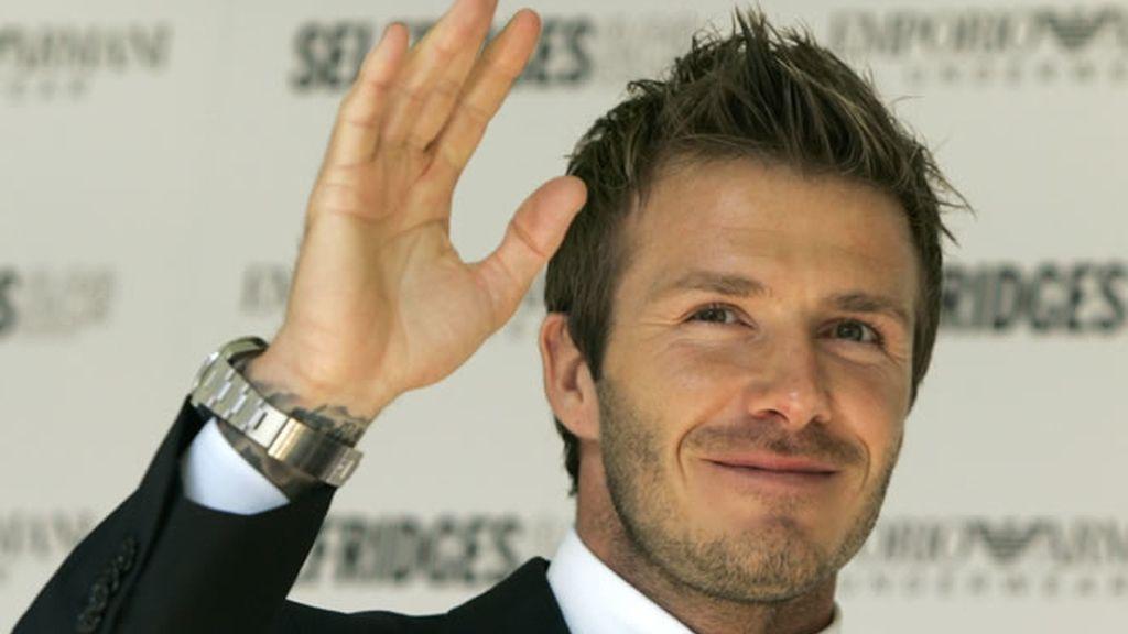 El elegante David Beckham