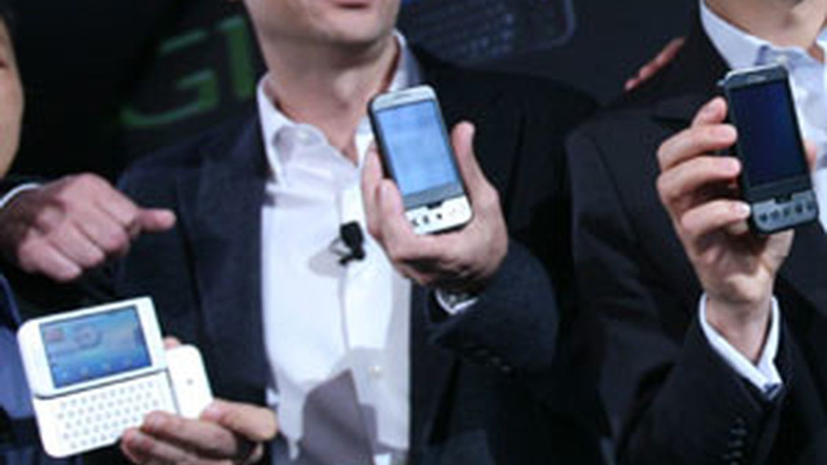 Presentación del G1 de Google en Nueva York. Foto:AP