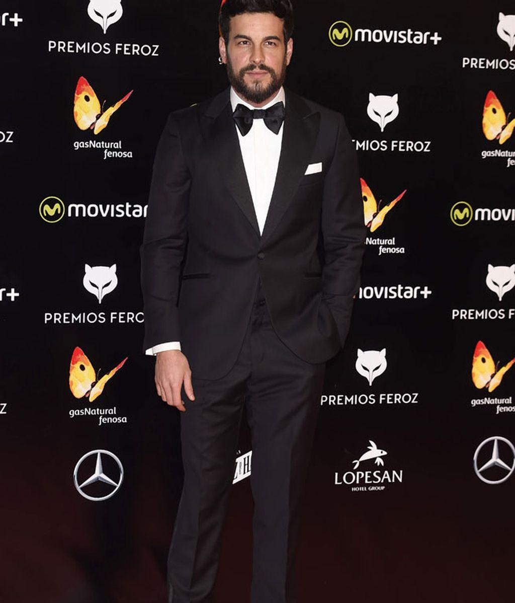 Mario Casas con 'total look' de Scalpers