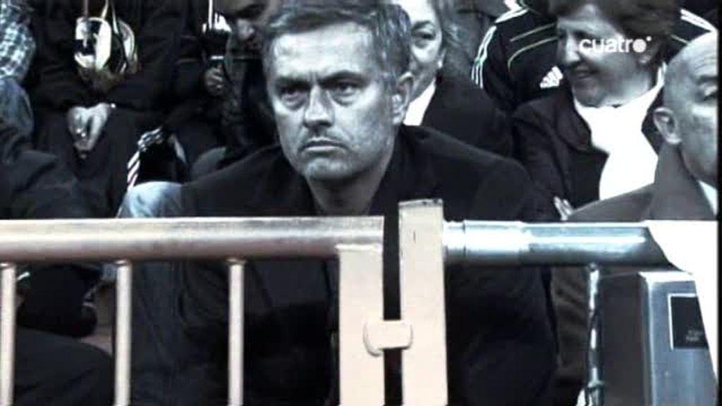 ¿Donde se sentará Mourinho en el Bernabéu?