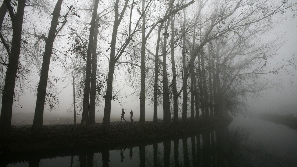 La niebla deja un paisaje de cine