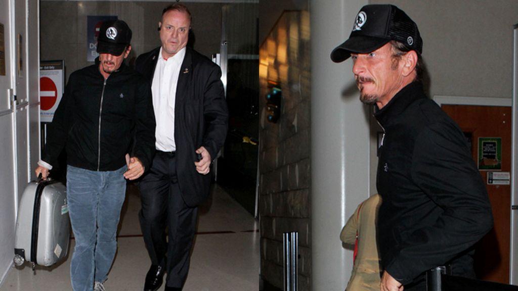 Sean Penn, con la gorra bien encajada