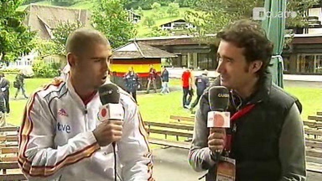 Juanma Castaño entrevista a Víctor Valdés