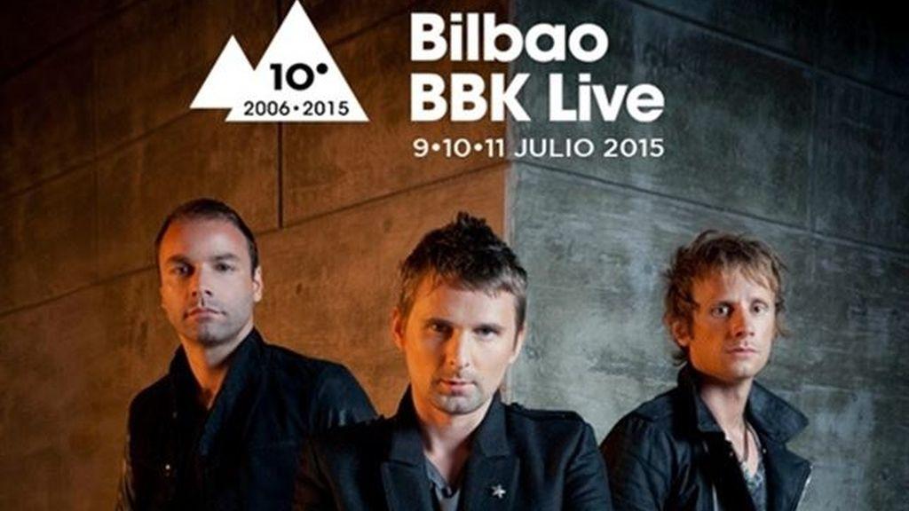 Muse, primer cabeza de cartel del Bilbao BBK Live 2015