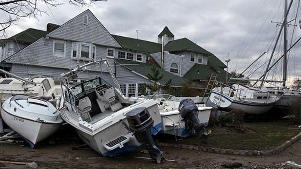 """Las consecuencias del huracán """"Sandy"""""""