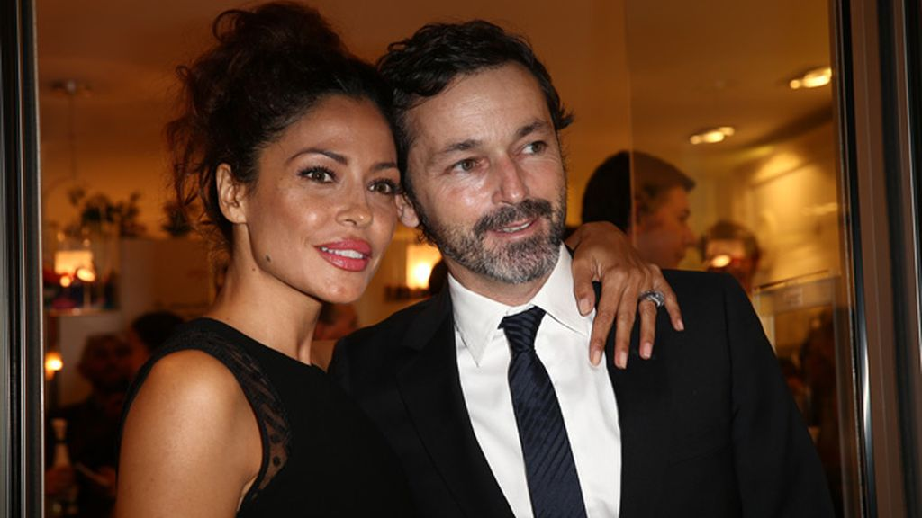 Patricia Pérez junto a su esposo, Luis Canut