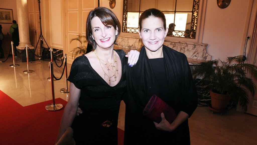 María Fitz-James y Samantha Vallejo-Nágera