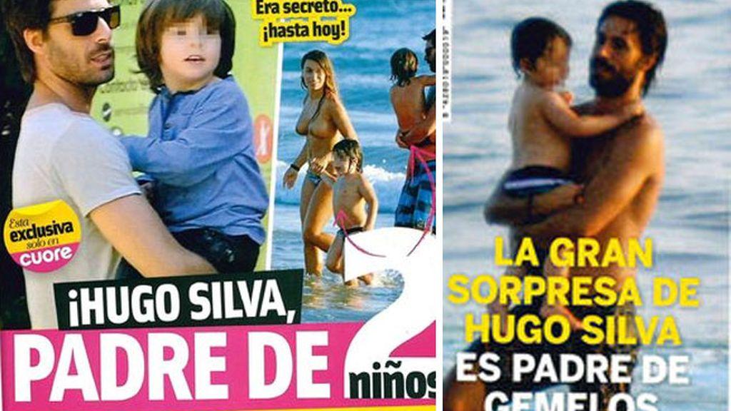 Hugo Silva padre de gemelos
