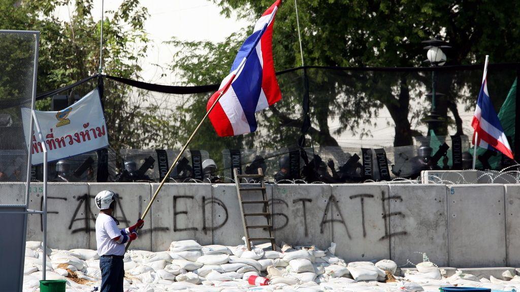 Protestas antigubernamentales en Bangkok