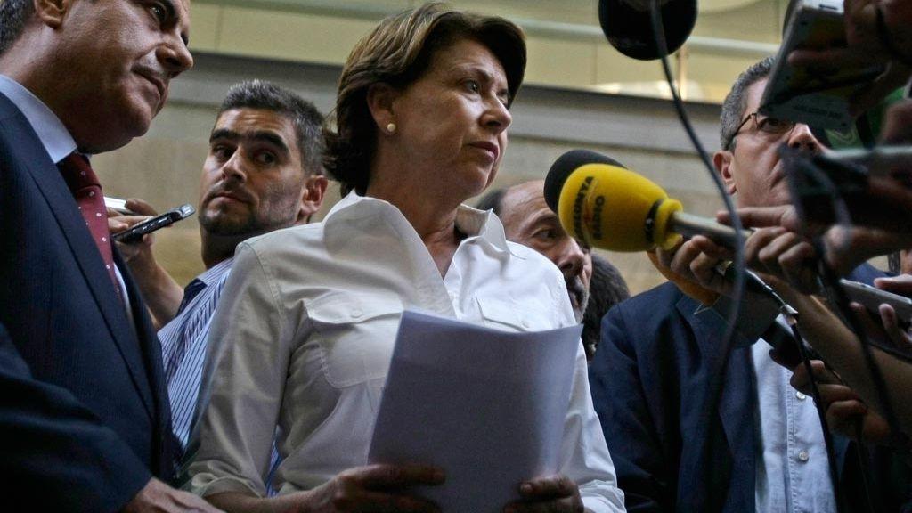 Magadalena Álvarez - Ministra de Fomento
