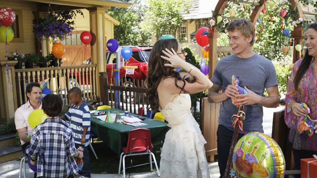 Melinda, de fiesta de cumpleaños