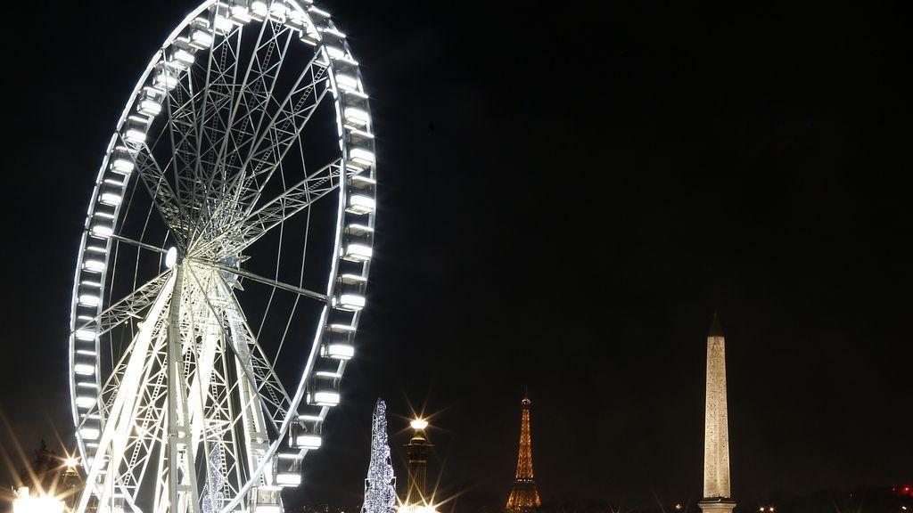 Navidad en la plaza de la Concordia