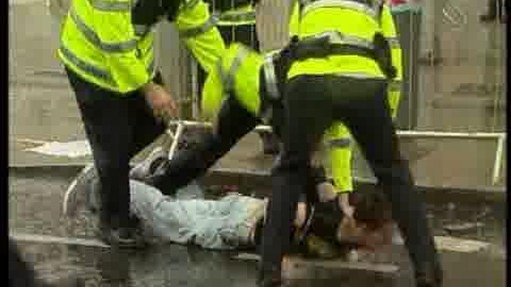 Blair, abucheado en Irlanda