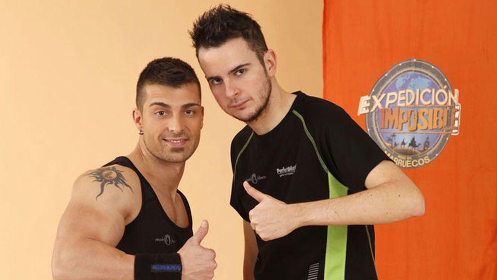 David y Daniel (EQUIPO NEGRO)