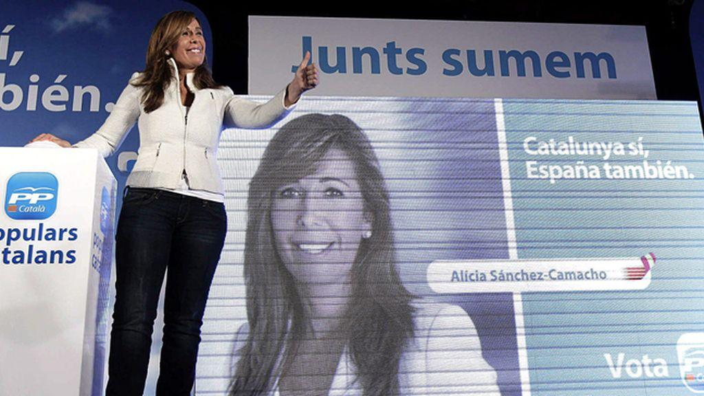 Alicia Sánchez Camacho, candidata del PP a la Generalitat