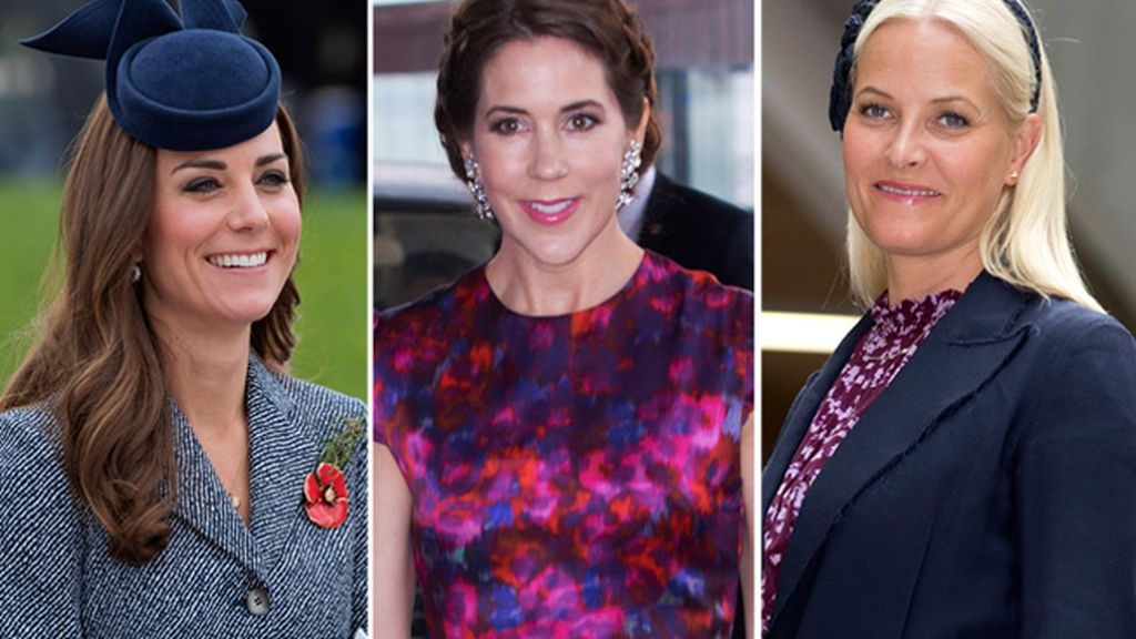 Kate Middleton, Mary Donaldson y Mette-Marit
