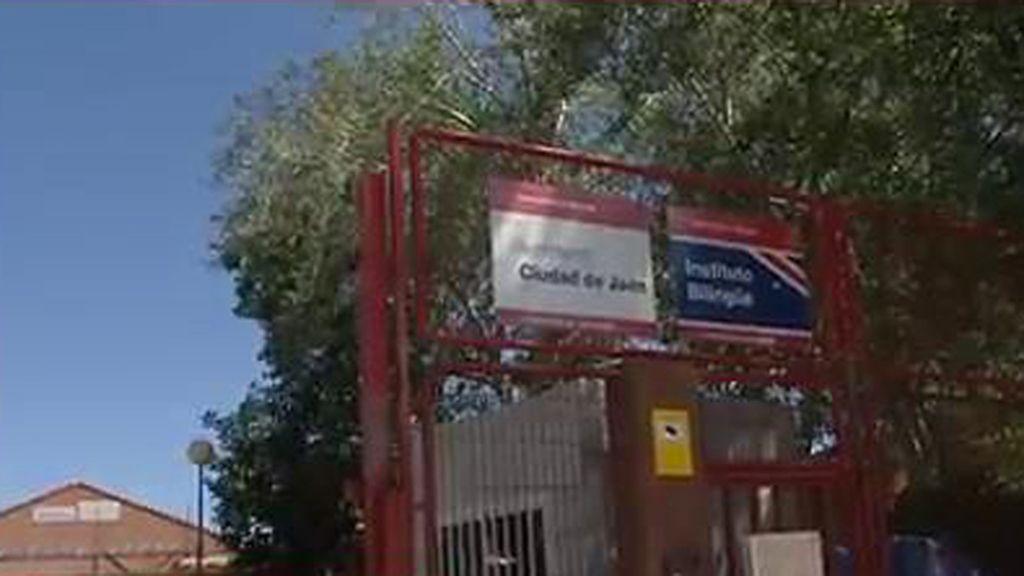 Instituto Ciudad de Jaén en Usera, Madrid, de donde una joven se ha suicidado