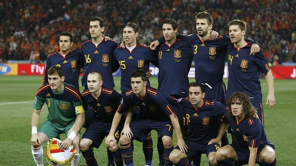 España hace historia en Sudáfrica 2010