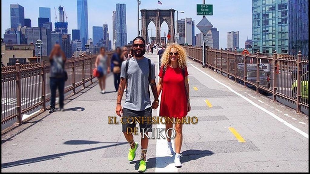 Azahara y Juanma, concursantes de GH 15, paseando por Nueva York