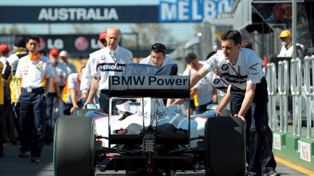 Mecánicos de BMW Sauber