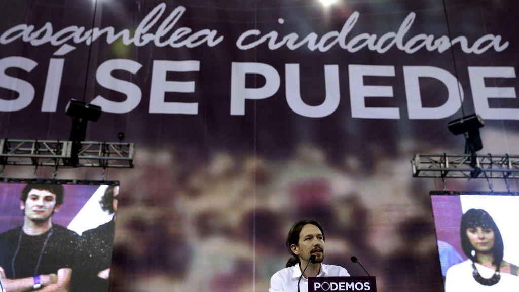 Pablo Iglesias abre la asamblea que somete a examen su modelo de partido.