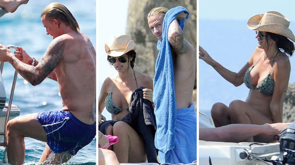 Guti y Romina, vacaciones en Ibiza