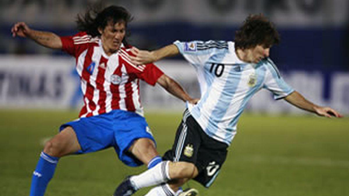Messi en su selección