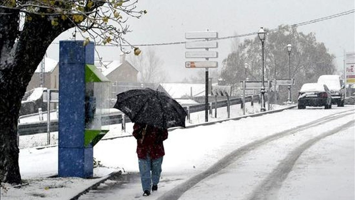 La nieve y el viento mantienen en alerta al norte de la península. Vídeo: Informativos Telecinco