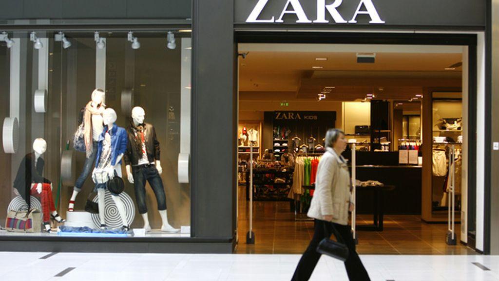 Cadena Zara, del grupo Inditex