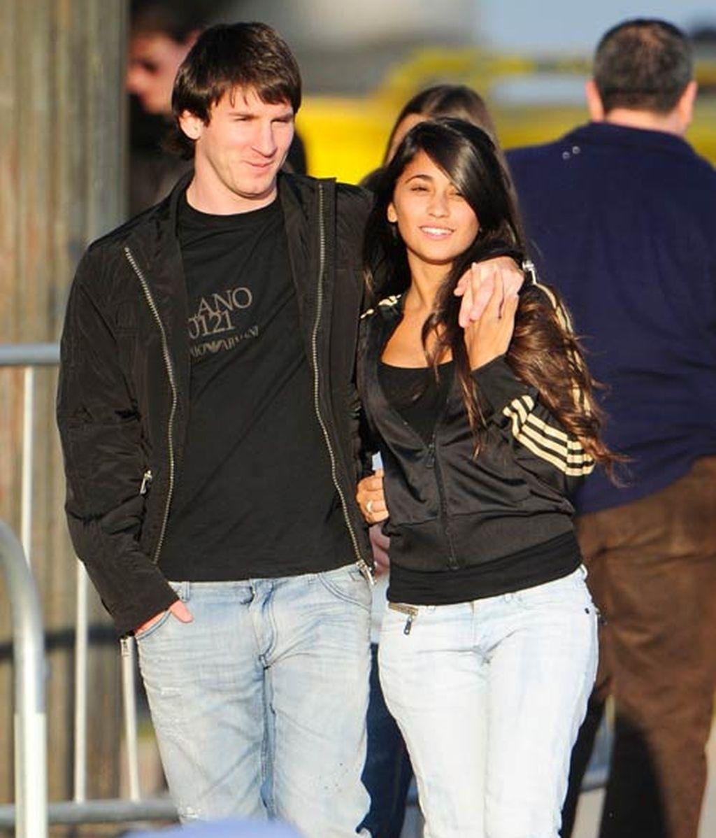 Así es Antonella Roccuzzo, la ex novia de Messi