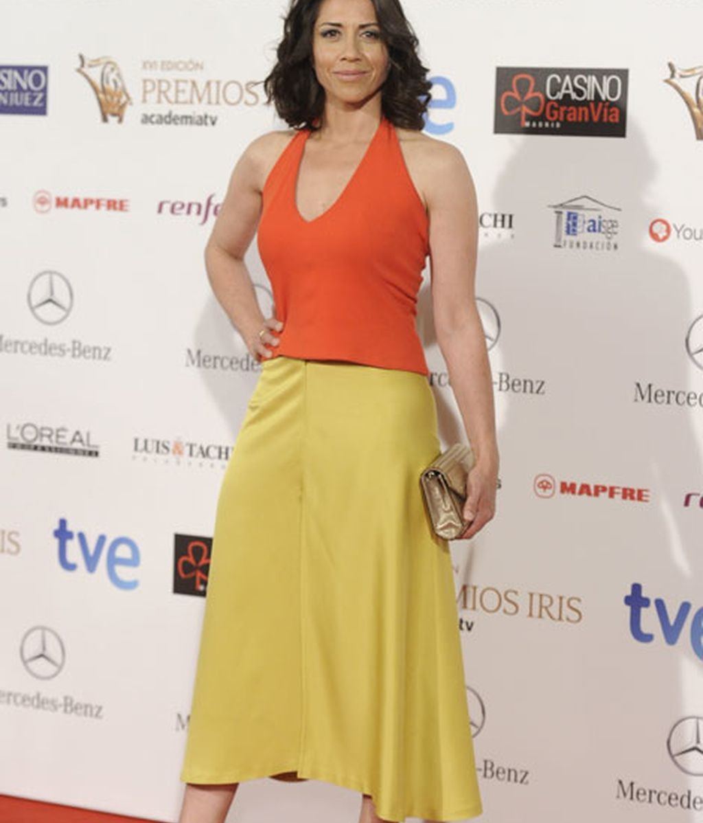 La actriz Alicia Borrachero fue una de las asistentes a los Premios Iris
