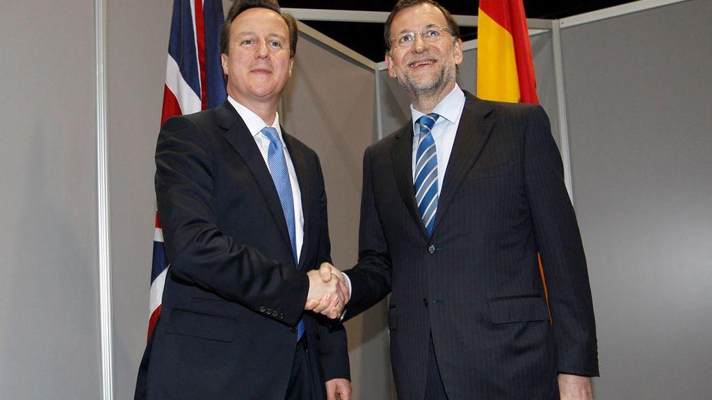 Mariano Rajoy y James Cameron