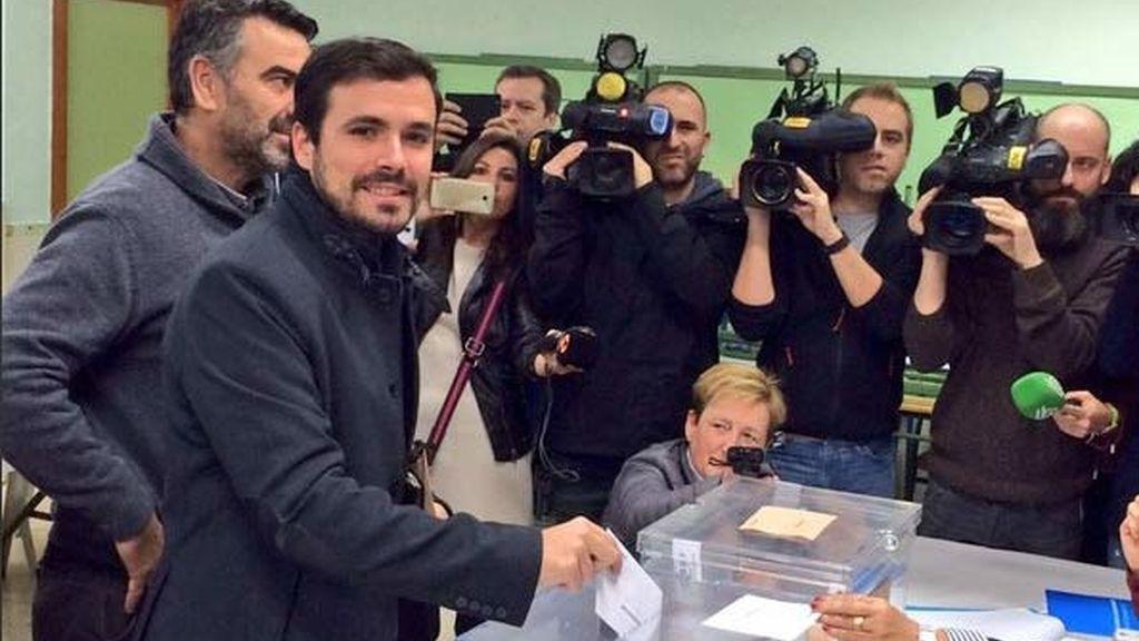Alberto Garzón, canidato de UP a la Moncloa