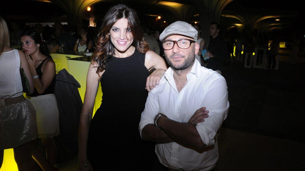 Jimena Mazucco junto a Quique Díaz, director comercial de Pretty Ballerinas y Úrsula Mascaró