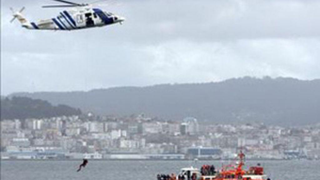 El helicóptero 'Pesca 1'