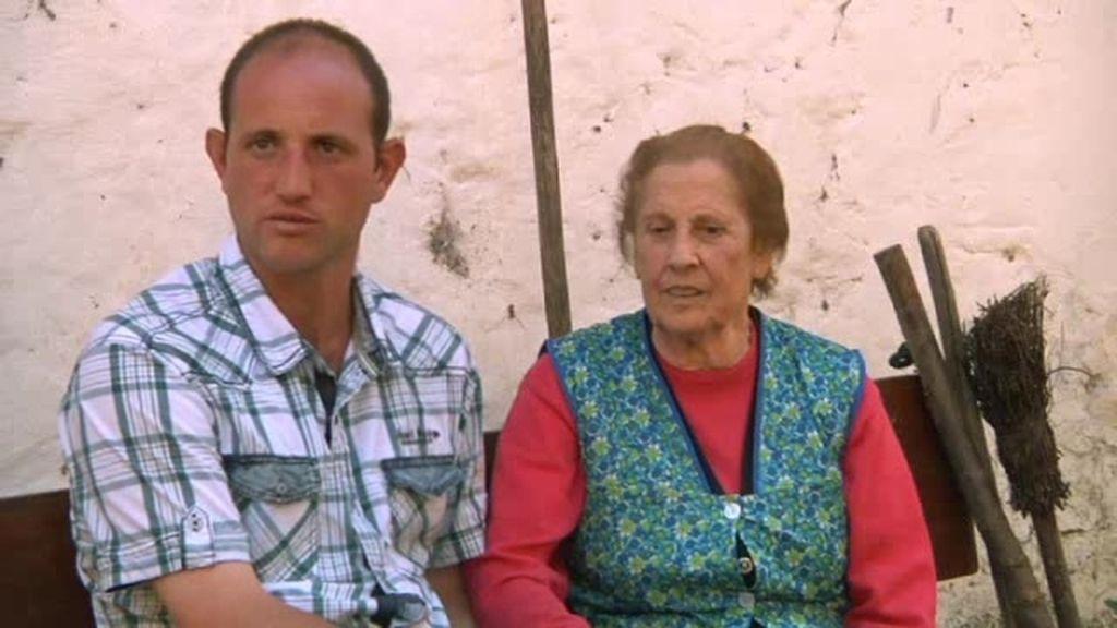 Melendi, el ojito derecho de los abuelos