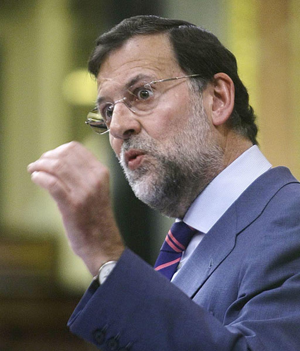 Rajoy: Joder, qué tropa