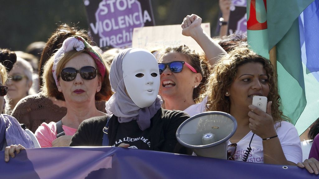 "Madrid marcha contra la ""violencia machista"""