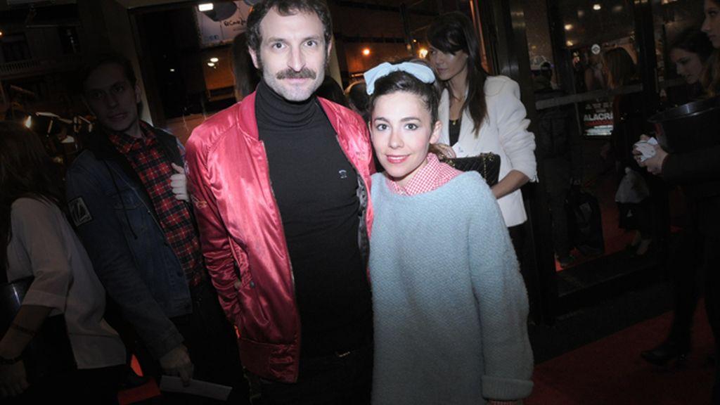 Julián Villagrán y Claudia Pérez