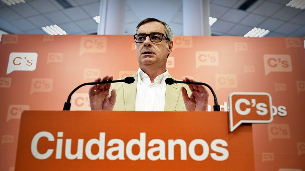 """C's dice que """"la única posibilidad"""" de apoyar la investidura es que se firme el acuerdo con el PP"""