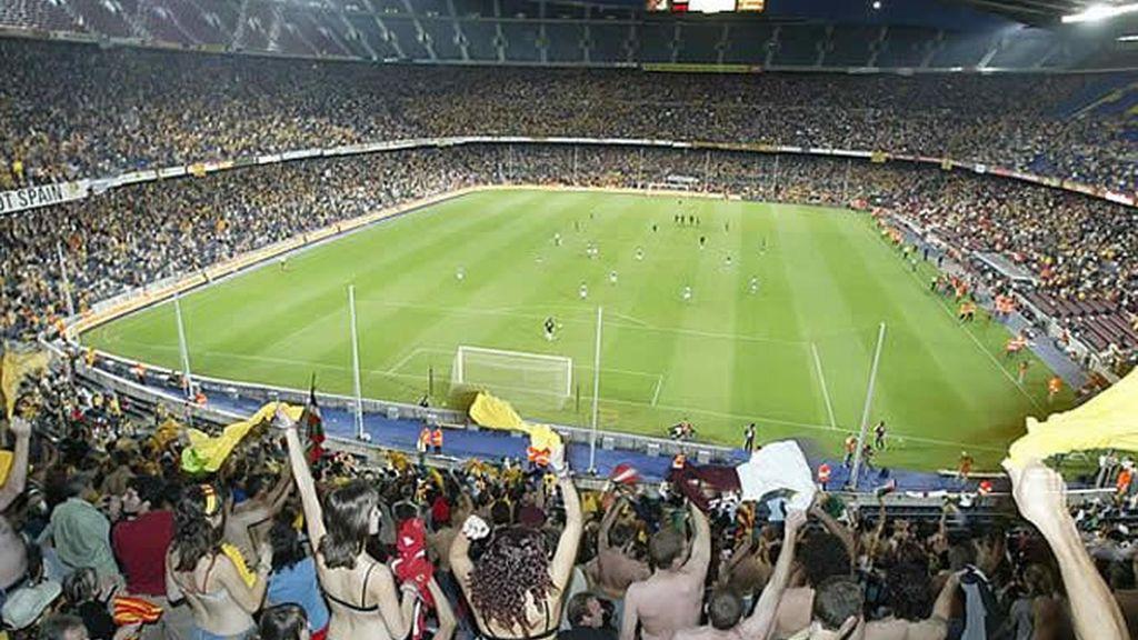 El Nou Camp, sede de la Copa del Rey